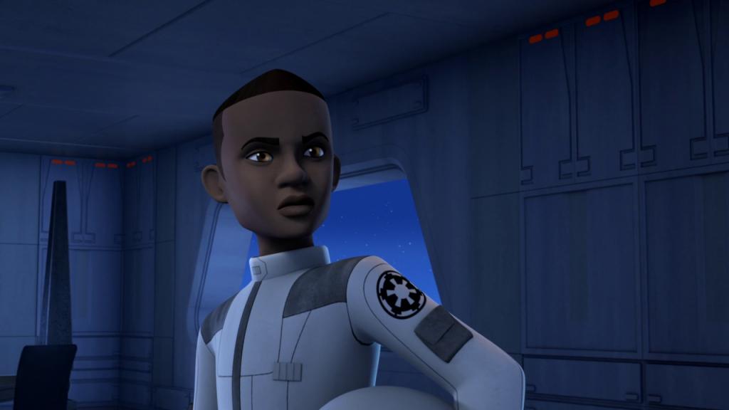 Зар Леонис, темнокожий кадет на службе Империи. Во времена Восстания, между прочим!