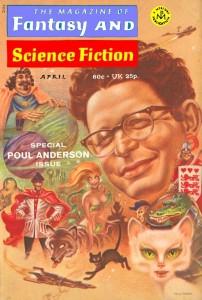 Пол Андерсон на обложке специального выпуска «Журнала фэнтези и научной фантастики».