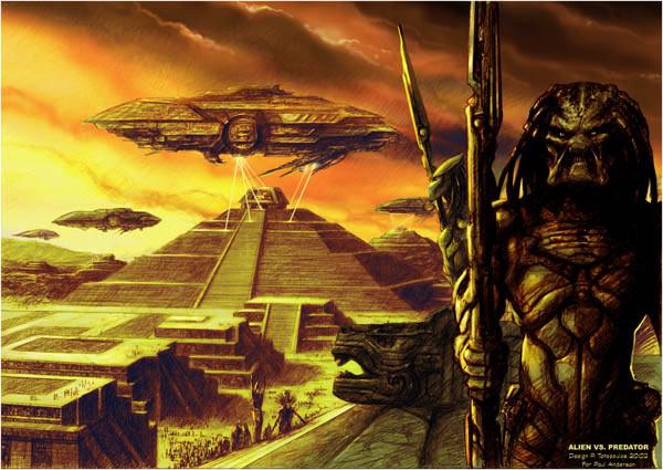 Хищники уничтожили одну из древних земных цивилизаций, чтобы предотвратить неконтролируемое распространение Чужих.