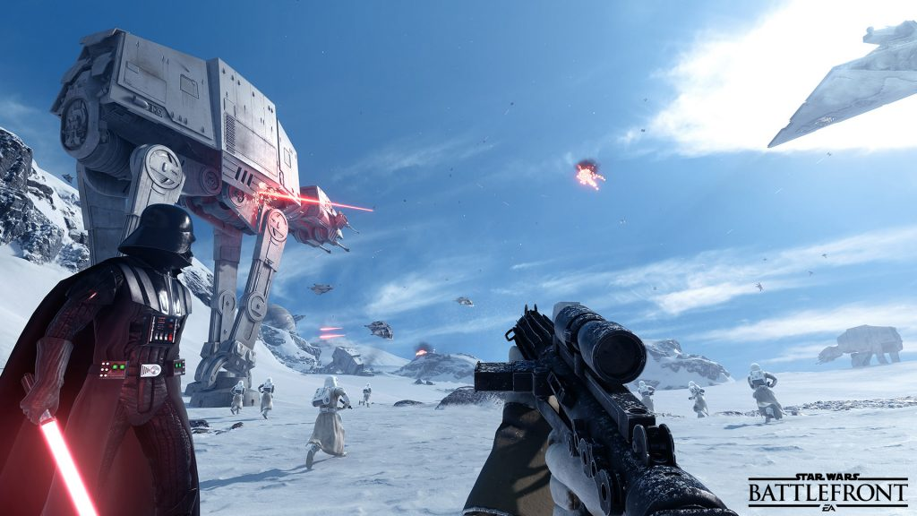 Star Wars Battlefront Дарт Вейдер