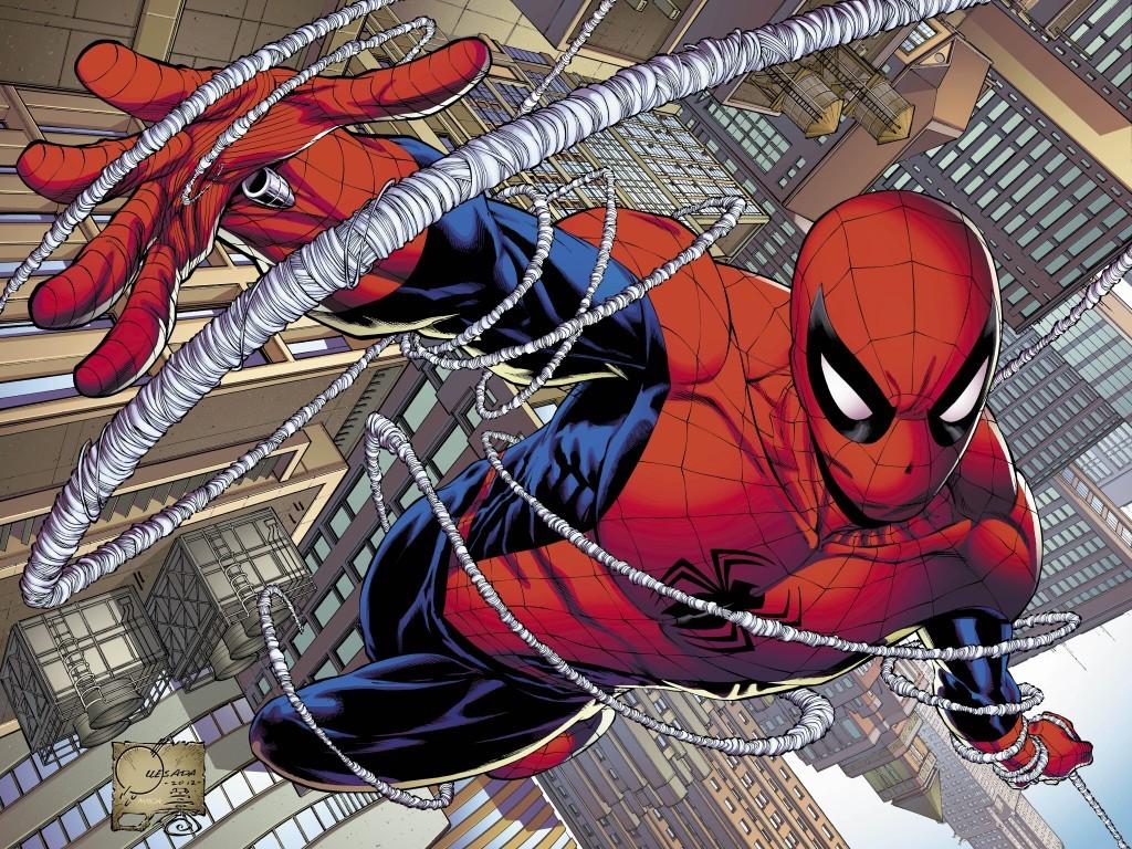 Человек-паук, символ новой эпохи супергероев.