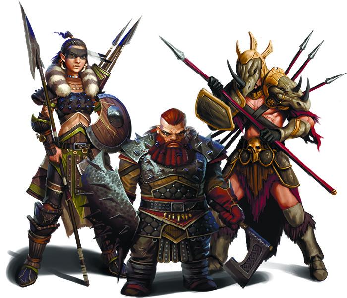 Pathfinder Heroes