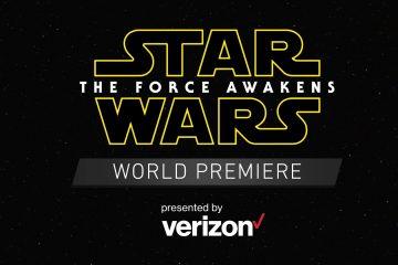 Запись трансляции с мировой премьеры фильма «Звёздные Войны: Пробуждение Силы»