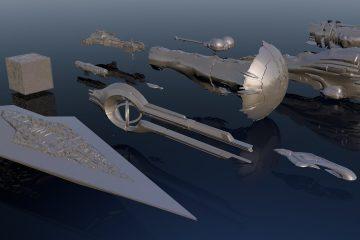 Видео: Самые большие корабли в фантастике
