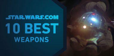 Топ-10 лучшего оружия «Звёздных войн»