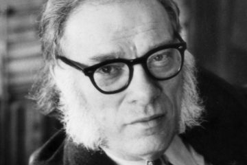 Portrait Of Isaac Asimov