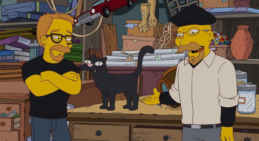 Адам и Джейми засветились в одной из серий «Симпсонов»...
