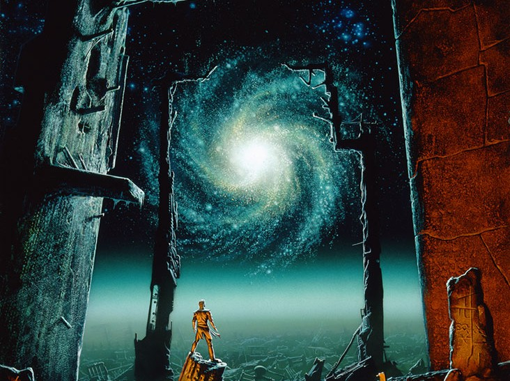 michael whelan - trantorian dream