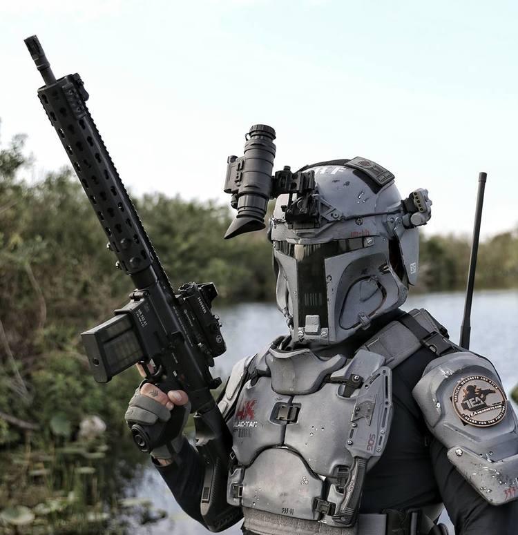 Броня Бобы Фетта в реальной армии