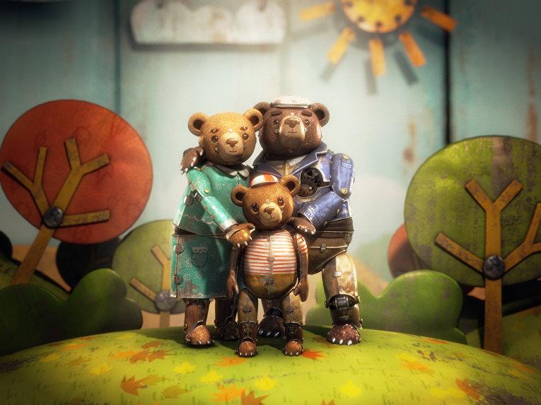 Медвежья история - мультфильм, получивший Оскар