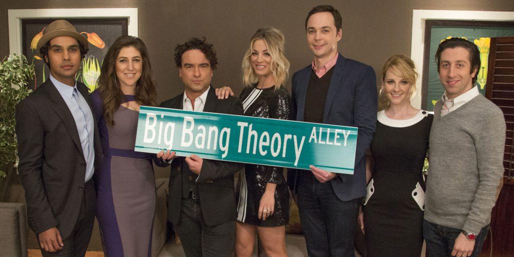Big Bang Theory Alley