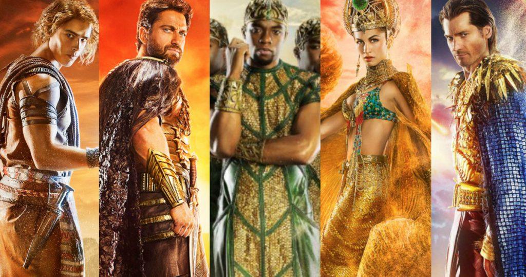 Древнеегипетский показ мод. Этот неловкий момент, когда обязательный чёрный герой уместнее, чем белые. Он хотя бы из Африки.