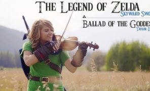 Тейлор Дэвис — Ballad of the Goddess  (Zelda Skyward Sword Theme)