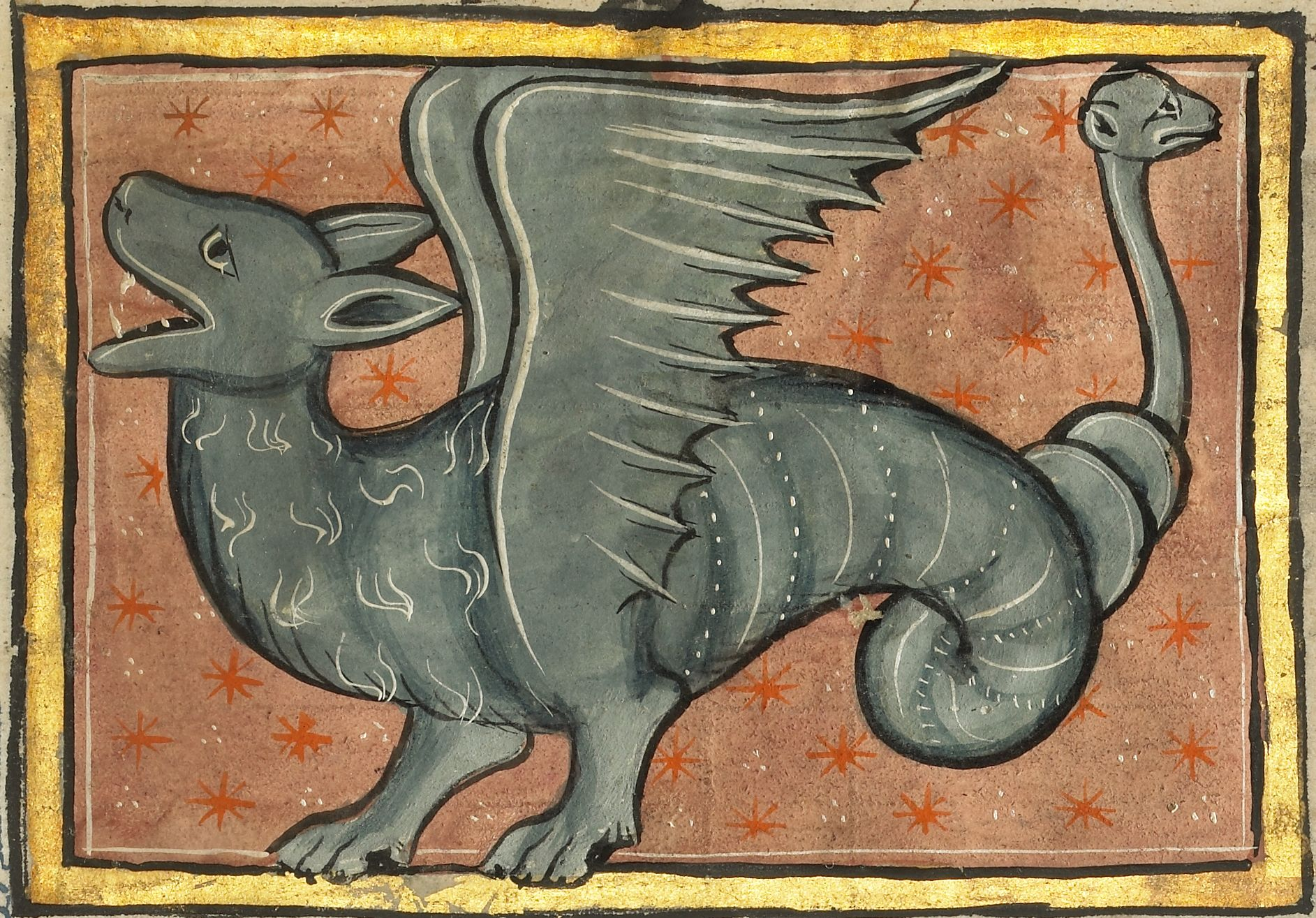 Средневековый бестиарий, часть 1 30