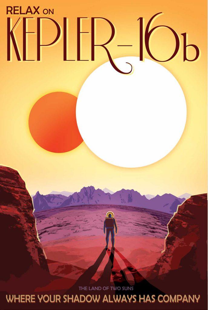 Кеплер 16б — экзопланета, похожая на Татуин