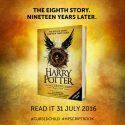 Восьмая книга про Гарри Поттера появится этим летом