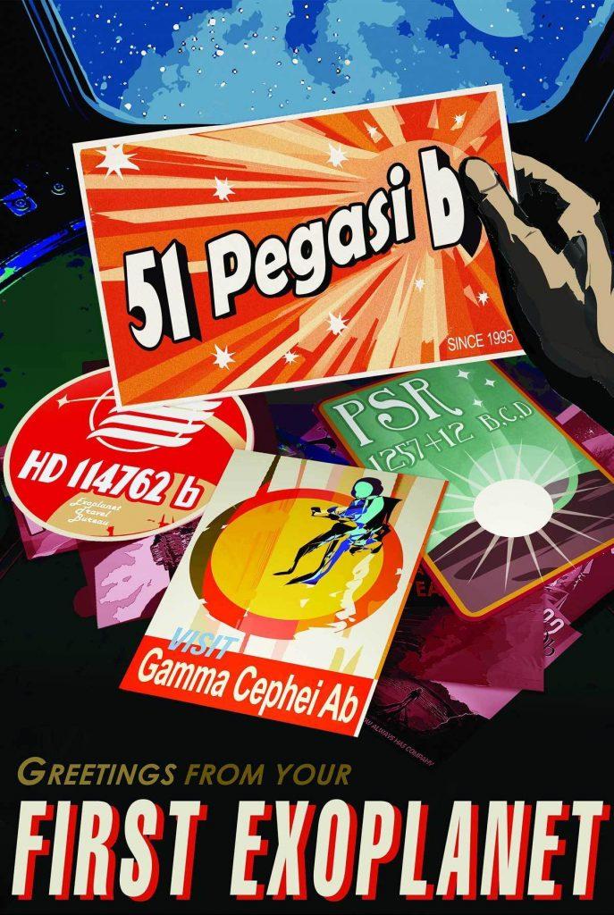 Экзопланета 51 Pegasi b, где год длится чуть больше земных суток