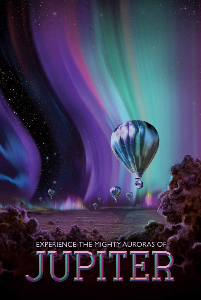 Юпитер — место для лучших световых шоу