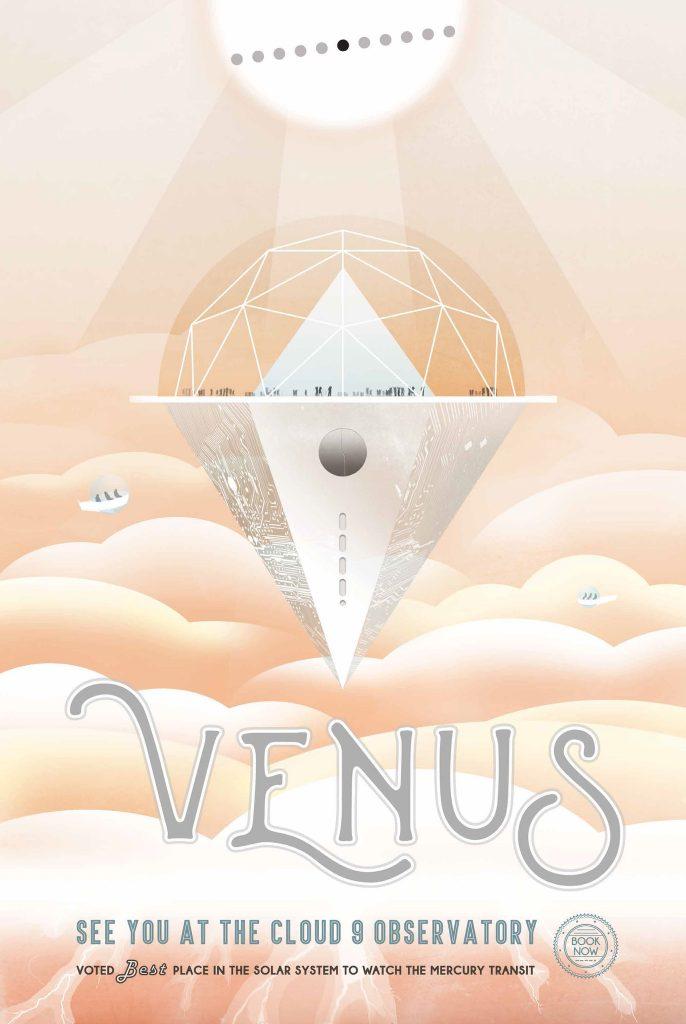 C Венеры открывается лучший вид на Меркурий