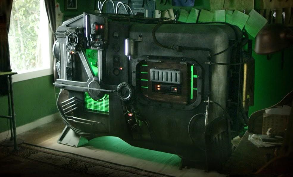 Фотомашина времени: зелёная, как тролль.