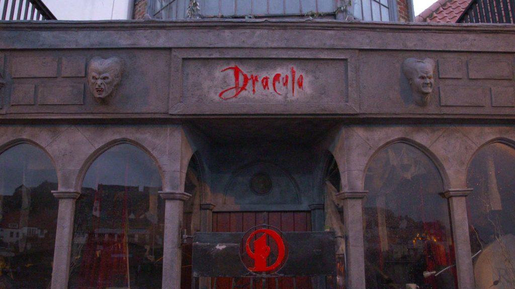 Музей Дракулы в Уитби.