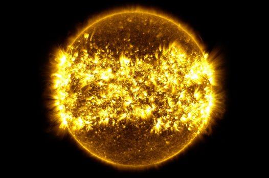 NASA показало год Солнца за 6 минут