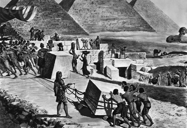 Рабы в Древнем Египте