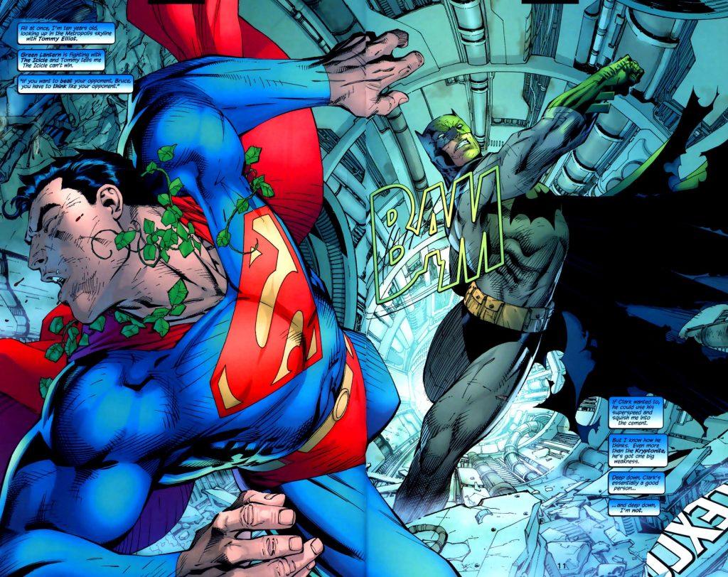 Batman vs Superman. Hush