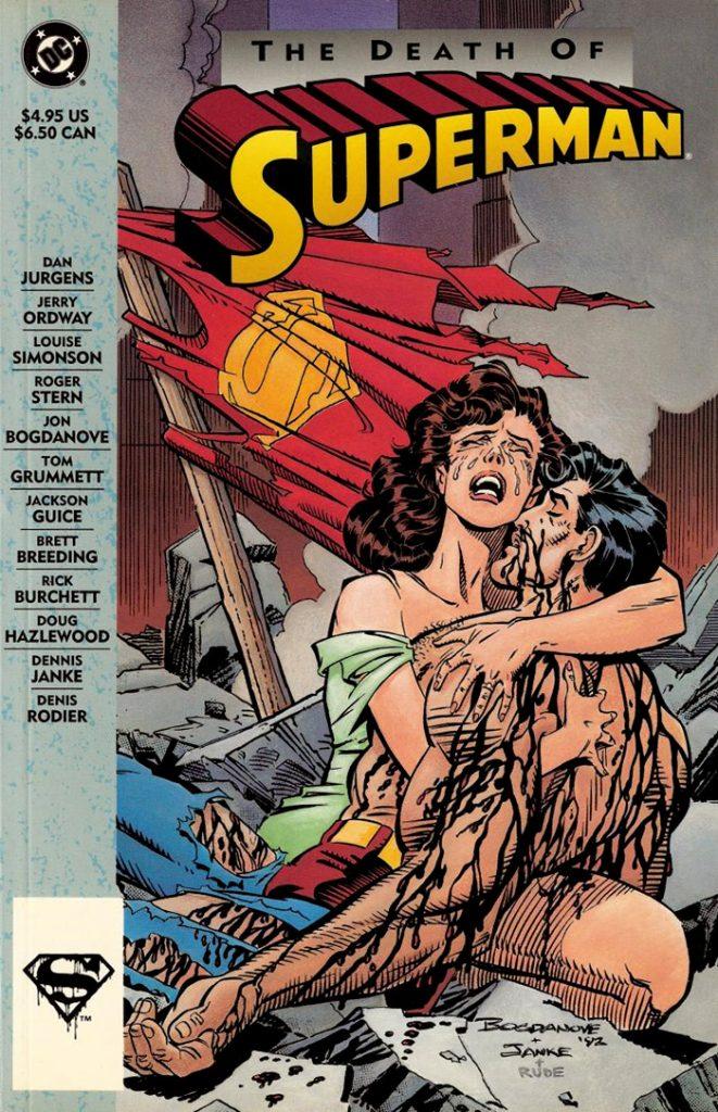 Комикс «Смерть Супермена», который должен был стать основой фильма.