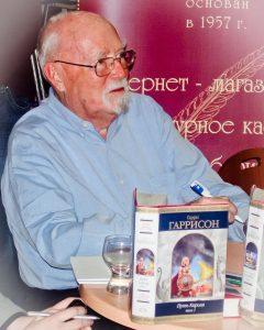 Гарри Гаррисон несколько раз посещал Россию.