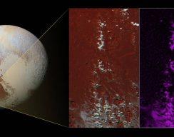 Плутон - регион Ктулху - метановый снег