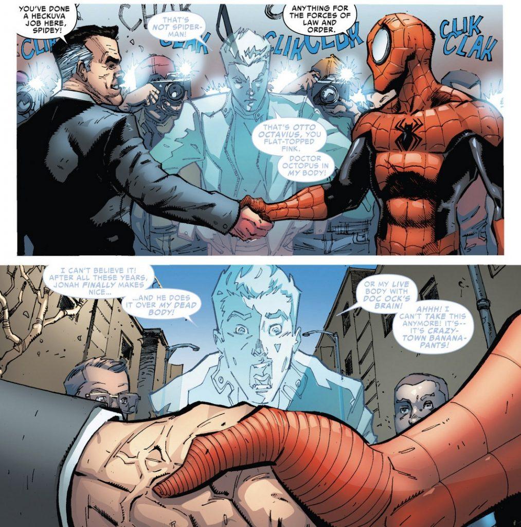 Отто в роли Паука не случайно зовётся Superior Spider-Man, то есть «лучший». Он добился того, о чём Питер лишь мечтал.