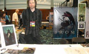 Мистический художник Бром