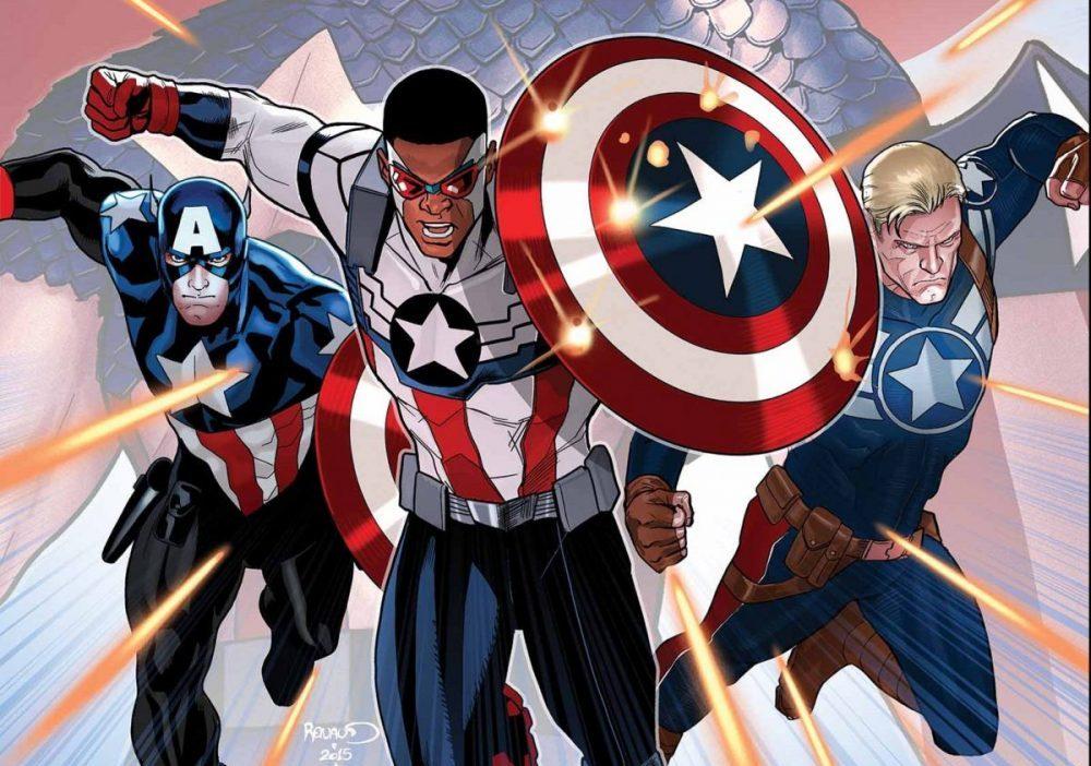 В одном фильме появятся сразу три героя, носивших титул Капитана Америки: сам Стив, Баки и Уилсон