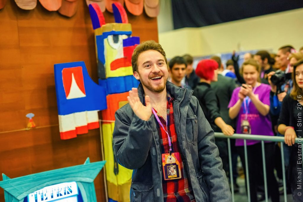 Alex Hirsch in Russia