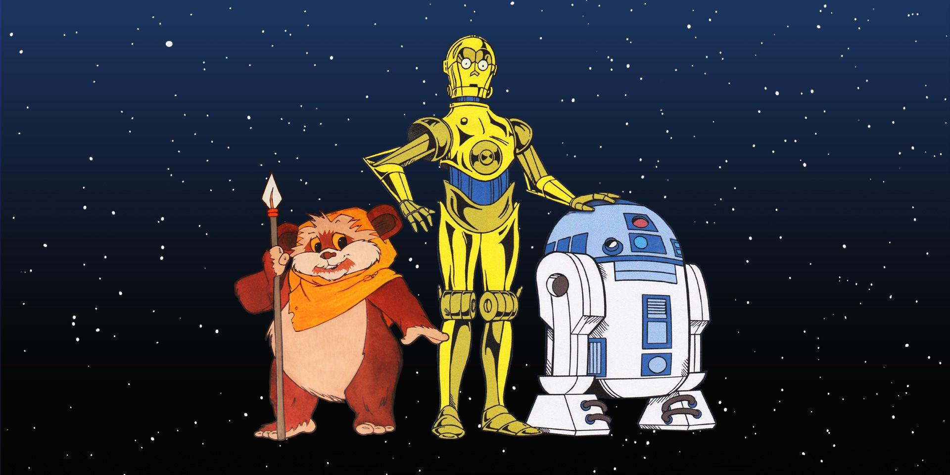 Мультсериалы Star Wars: «Дроиды» и «Эвоки»
