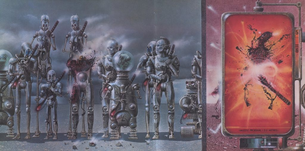Эдуард Шауров - Jim Burns - Robot Reception Guard