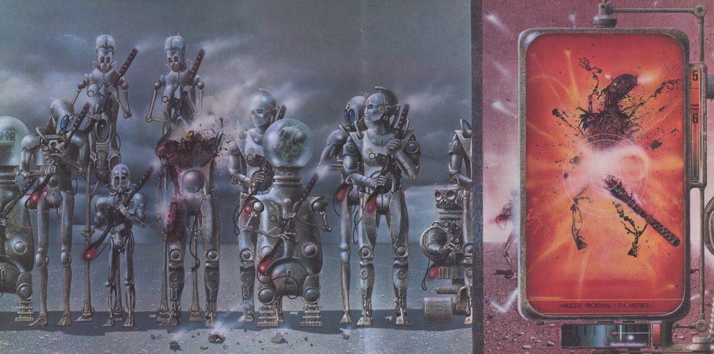 Эдуард Шауров - Jim Burns - Robot Reception Guard