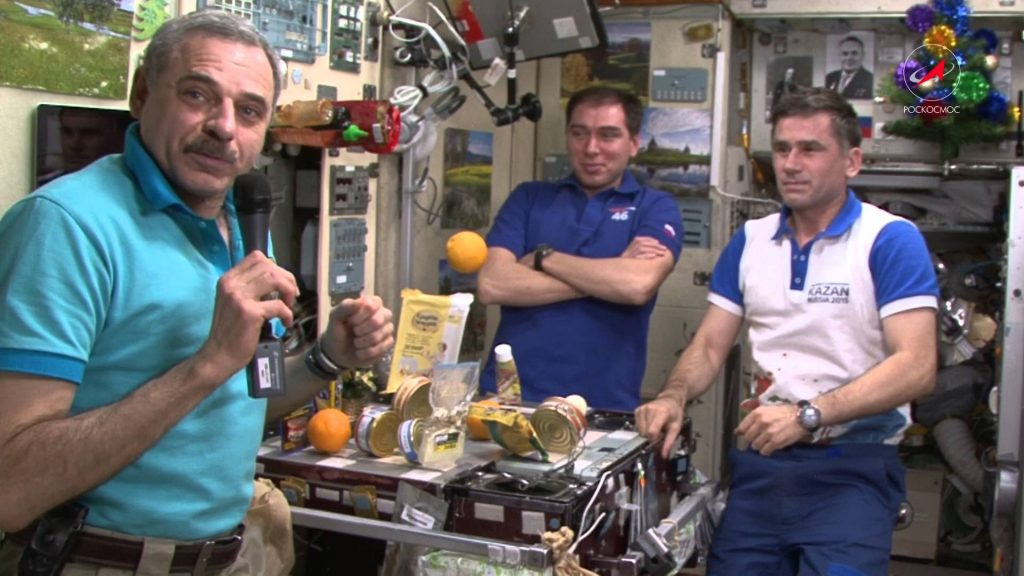 ISS kitchen