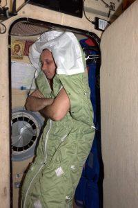 ISS sleeping room