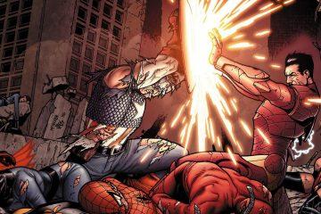 Капитан Америка против Железного человека: кто кого? 2