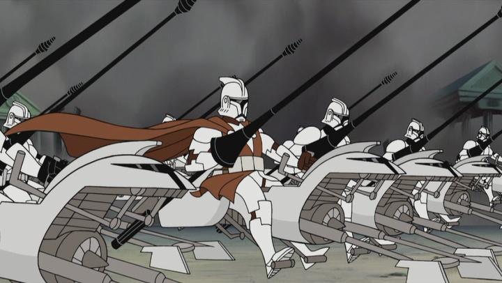 Мультсериалы Star Wars: «Войны клонов» Тартаковски 8