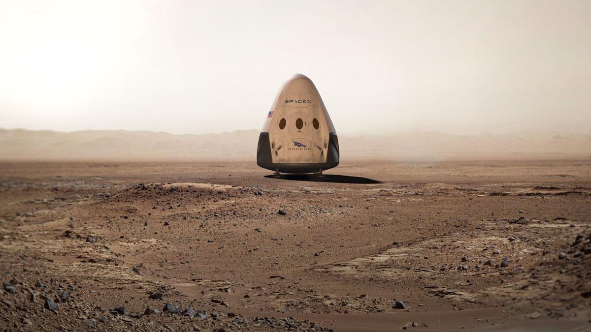 SpaceX обещает отправить корабль наМарс не позже 2018-ого года