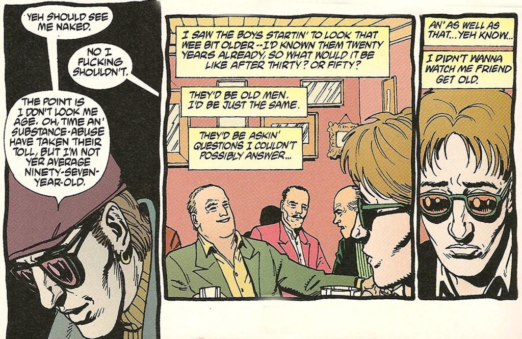 Кэссиди переживает классическую трагедию бессмертного: его самого время щадит, его друзей — нет.