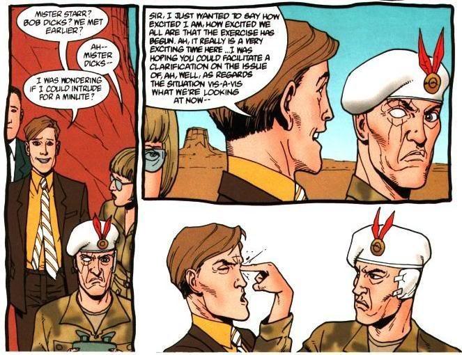 Юмором комикс отнюдь не обделен — разумеется, исключительно черным