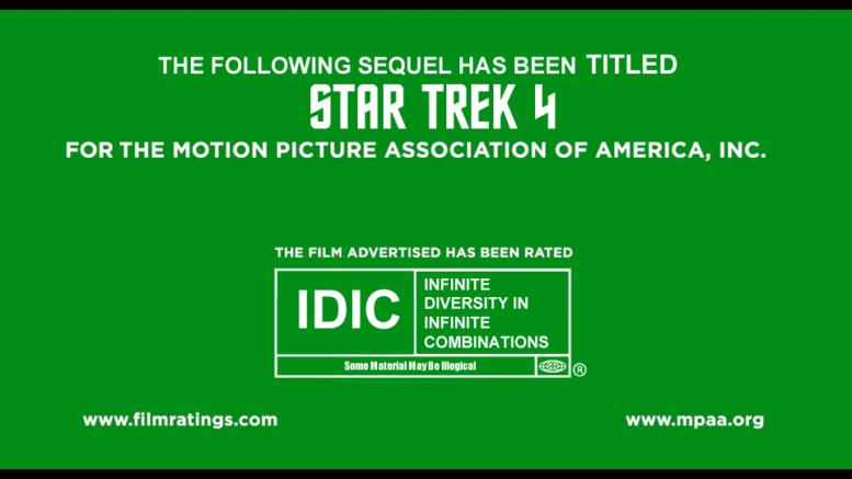 MPAA StarTrek 4