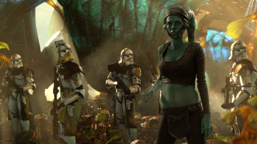Рыцарь-джедай Эйла Секура — изначально героиня комиксов. Лукас увидел её на обложке и включил в приквелы