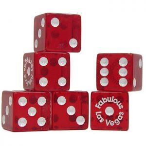 «Совершенные» кости для казино: прозрачный пластик доказывает отсутствие жульнических «утяжелителей»