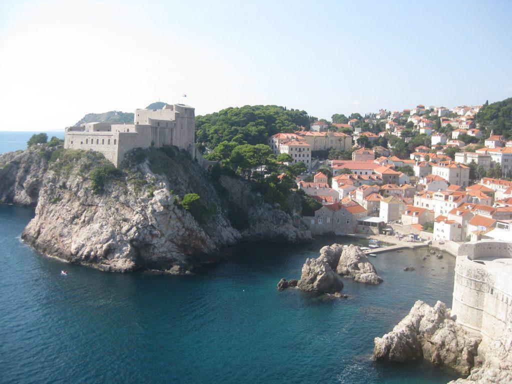 Панорама Дубровника. Черноводный залив в жизни не так уж велик