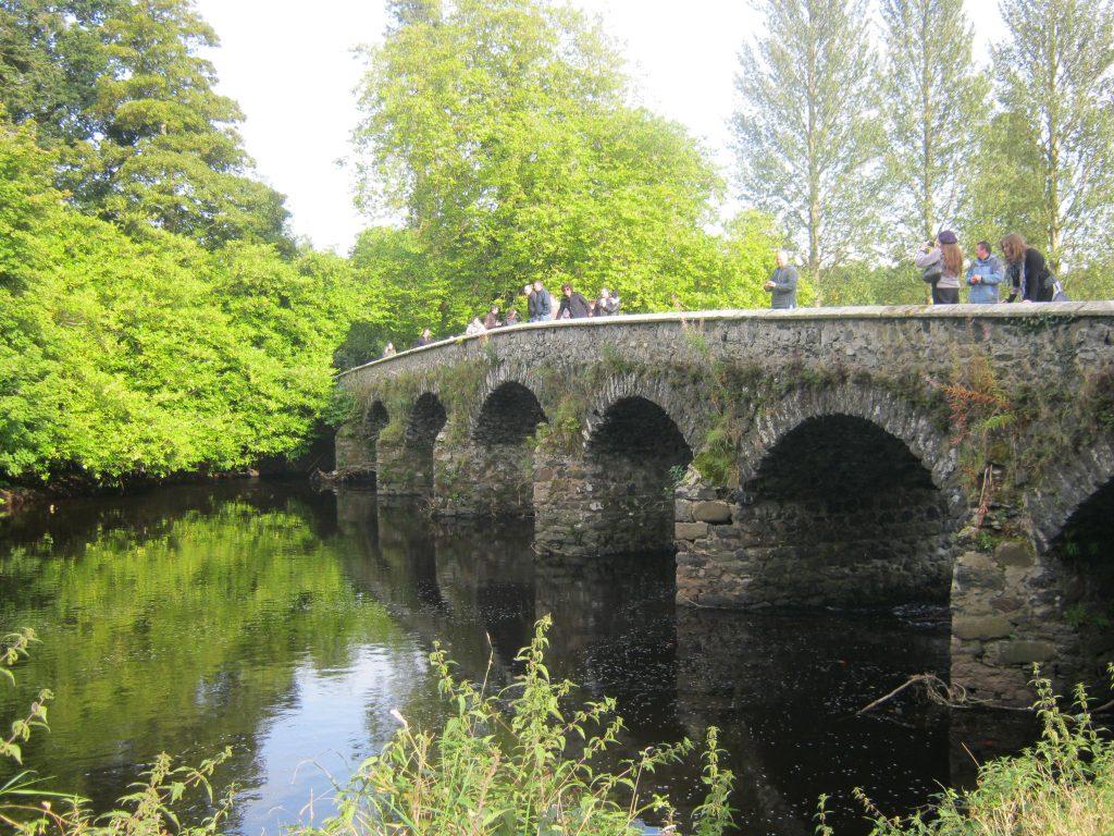 Мост близ замка Шейн, где Джейме подрался с Бриенной